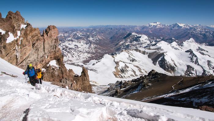 Aconcagua to najwyższy szczyt obu Ameryk