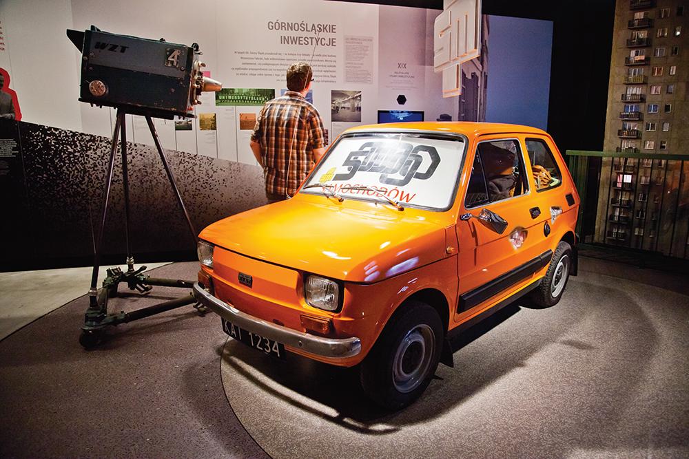 Maluch w Muzeum Śląskim