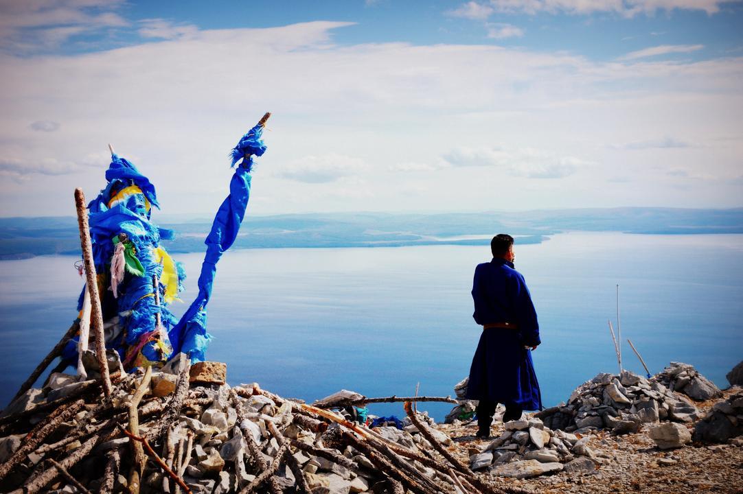 Ulubionym kolorem Mongołów jest błękit