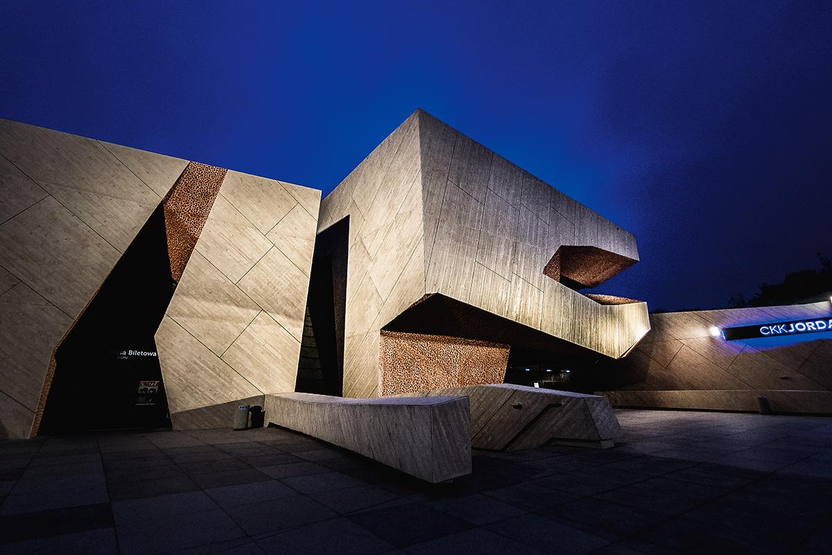 Jordanki zaprojektował znany hiszpański architekt Fernando Menis